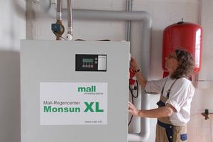 """Das Regencenter """"Monsun XL"""" sitzt im Gebäude des Zentralen Betriebshofs und versorgt die Entnahmestellen."""