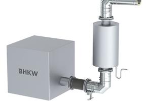 Vier Abgassysteme bilden die Grundlage für individuell konzipierte Anlagen.