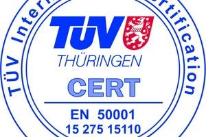 Die GFR ist seit Oktober 2015 nach DIN EN ISO 50001 zertifiziert.