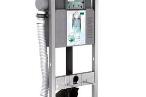 """Das """"Air-WC"""" Montageelement mit elektronischer Lüftersteuerung"""
