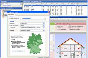 Die Lüftungskonzept-Planungssoftware prüft die Notwendigkeit lüftungstechnischer Maßnahmen.