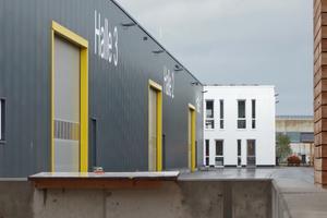 Bauhof Technische Dienste Villingen-Schwenningen: 5.500 m² Dachflächen sind begrünt, um den Niederschlag soweit wie möglich zurückzuhalten und zu verdunsten.