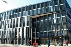 Der Bristol-Myers Squibb Neubau in der Münchener Innenstadt ist mit der DGNB Silbermedaille ausgezeichnet<br />