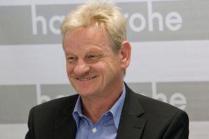 Siegfried Gänßlen, CEO Hansgrohe SE, übergab sein Amt am 1. Oktober 2014 an seinen Nachfolger.