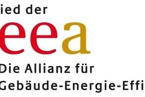 """Das Logo der """"Allianz für Gebäude-Energie-Effizienz"""", geea"""