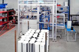 Im niederländischen Staphorst werden die von Holmak angebotenen Wärmetauscher mit Baugrößen von 200 bis 700 mm Tiefe produziert.<br />