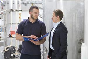 Energetische Inspektion – Aufnahme einer Anlage   (Foto: Spie Schweiz AG)