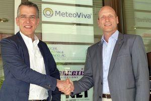 Markus Werner, Gründer und geschäftsführender Gesellschafter der MeteoViva GmbH (links), und Beat Koller, Geschäftsführer der MeteoViva Schweiz GmbH
