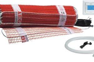 """Die AEG-Fußbodentemperierung """"Thermo Boden Basis"""" erzeugt mit rascher Aufheizzeit einen angenehm warmen Fußboden"""