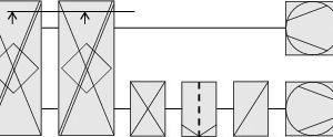 """<div class=""""grafikueberschrift"""">System 3 </div>Abluftdirektbefeuchtung mit Frischwasser und Kreuz-Gegenstrom-Rekuperator"""