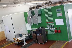 Uponor hat den Bau des Raumklimalabors des Instituts für Energiesystemtechnik (INES) der Hochschule Offenburg unterstützt.