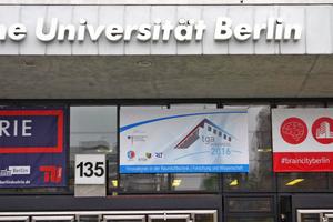 Rund 340 Teilnehmer kamen zum TGA-Fachkongress in die Räume der TU Berlin.