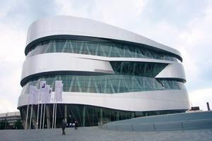 Das Mercedes Benz Museum Stuttgart<br />Architekt: UN Studio, 2003<br />Deutscher Architekturpreis 2007<br />
