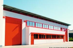 Der Erweiterungsbau einer Werkhalle erhielt das DGNB-Zertifikat in Silber<br />