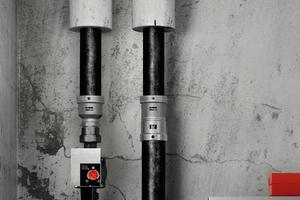 """Beim Heizungstausch müssen neue Anschlüsse auf Stahlrohre mit den Außendurchmessern 44,5 und 57,0 mm nicht mehr geschweißt werden. Viega hat dafür spezielle Pressverbinder im """"Megapress""""-Programm."""