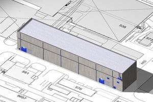 Krantz liefert die Lüftungstechnik für ein Lagergebäude der Kerntechnische Entsorgung Karlsruhe GmbH.  (Bild: Kerntechnische Entsorgung Karlsruhe GmbH)