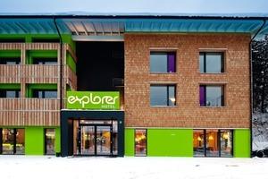 Das Explorer Hotel vor den Toren von Oberstdorf setzt als Nullemissionshaus in der Hotelbranche neue Maßstäbe<br />