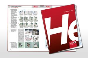 Der Helios Hauptkatalog 4.0 ist 540 Seiten stark.