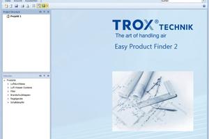 """""""Easy Product Finder"""" von Trox<br />"""