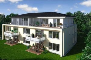 Die neuen Eigentumswohnungen der Bema Comfortbau GmbH: reizvolle Lage im Grünen, moderne Architektur und eine gehobene Ausstattung, zu der unter anderem auch Bäder mit bodengleichen Duschen gehören<br />