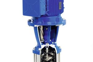 """Die Erweiterung der Baureihe """"Lowara e-SV"""" vertikale Mehrstufenpumpe umfasst die Ausführungen """"Niedriger NPSH"""", """"Hochdruck"""" und """"Hochtemperatur 150°C bzw. 180°C"""" und sind ideal für viele Anwendungen in der Industrie<br />"""