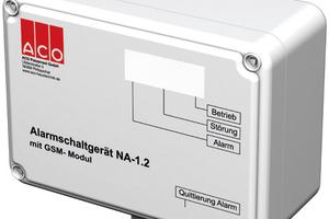 Mit dem GSM-Modul von ACO Haustechnik lässt sich die Kontrolle und Wartung von Fettbabscheidern, Abwasserhebeanlagen, Rückstauverschlüssen und Anlagen der Verfahrenstechnik erheblich vereinfachen, flexibilisieren und zeitlich verkürzen