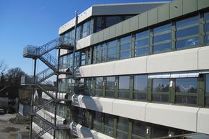 Nach der Generalsanierung präsentiert sich die Grund- und Hauptschule Markt Indersdorf in neuem Glanz<br />