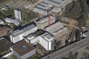 """Das """"Communication Center"""" am Stammsitz Minden soll planmäßig im ersten Quartal 2016 fertiggestellt werden."""