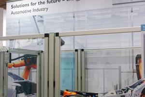 Anlagentechnik, Roboter und Gebäudetechnik ergänzen sich in der Industrie 4.0.