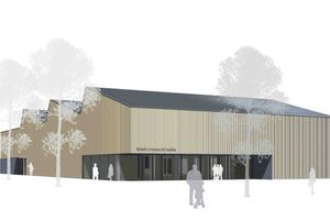 Neubau Mehrzweckhalle Kressbronn am Bodensee, Fertigstellung 2013