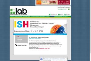 ... zu Informationen zur ISH 2013