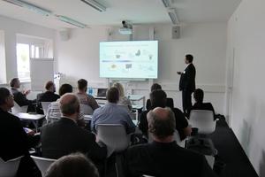40 Teilnehmer kamen zur Eröffnung des neuen Kessel-Kundenforums in Stuttgart. (Foto: Kessel AG)