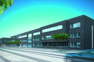 Auf dem Gelände der ehemaligen Scharnhorstkaserne fand die Grundsteinlegung für das neue Bürogebäude der pbr Planungsbüro Rohling AG statt