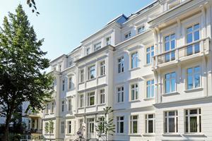 Das Haus Winter in Hamburg wurde als Passivhaus im Stil einer Gründerzeitvilla erbaut.<br />