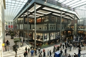 Blick in das Forum Duisburg