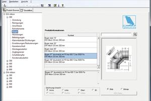 Mit dem Raab-CAD-Browser ist die Abgasanlage schnell erstellt