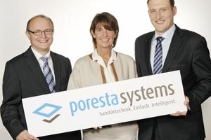 Neuer Name, gleiche Qualität und bekannte Gesichter: Heinz-Joachim Schönberger-Messer, Sabina Illbruck und Markus Grab (v.l.n.r.) bilden weiterhin die Geschäftsführung des Unternehmens
