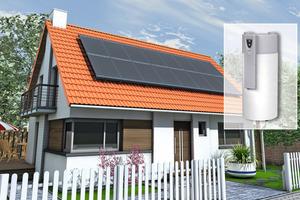 Wärmepumpe und PV bilden eine ideale Kombination zur Eigennutzung von Strom<br />