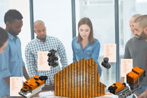 Ventil- und Antriebslösungen von Belimo im 3D-Modell