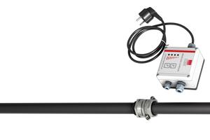 Das Messgerät für die Fettschichtdickenmessung von ACO Haustechnik besteht, vereinfacht beschrieben, aus einem Sensorkopf, einem Sensorträger sowie einer Auswerteeinheit mit Visualisierung des Messergebnisses