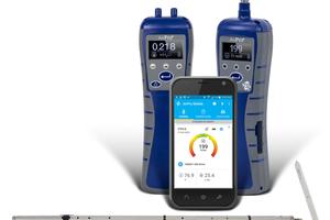 """Die """"AirPro""""-Sonden sind hochpräzise thermische Anemometer und Mikromanometer."""