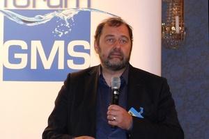 Geert van den Abbeele, Sanha GmbH & Co. KG, gab die neuesten Ergebnisse der Langzeit-Korrosionstests der GMS e.V. bekannt.