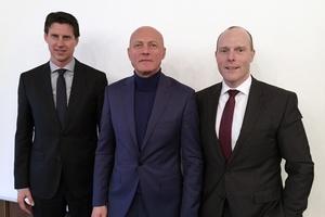 Der Vorstand des Herstellerverbandes RLT-Geräte e.V. mit (v.l.n.r.) Udo Ranner, Siegfried Vogl-Wolf und Frank Ernst