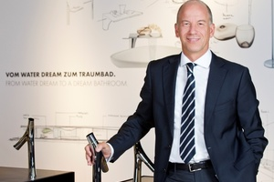 Thorsten Klapproth trat zum 1. Oktober 2014 das Amt des Vorsitzenden des Vorstands der Hansgrohe SE an.
