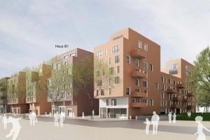 Neubau im Pelikan Viertel, Hannover Architekten BKSP (Bild: Gundlach GmbH & Co. KG Wohnungsunternehmen)