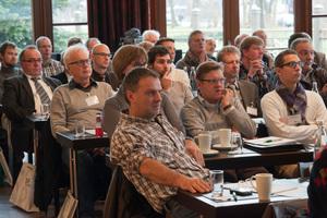 Aufmerksame Zuhörer beim TGA Fachforum Wassermanagement in Hamburg<br />