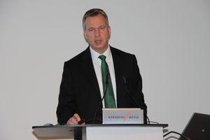 Dr. Christian Wahlers verlässt das Unternehmen - hier auf der Pressekonferenz der Fa. Bitzer während der Fachmesse Chillventa im Oktober 2014 (Foto: Brauneis)