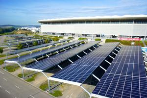Mit dem aus der Sonnenenergie erzeugten Strom durch den Solarcarport der  Wirsol-Rhein-Neckar-Arena wird die Umwelt um den Ausstoß von 723 t CO<sub>2 </sub>entlastet.