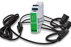 """Strommessgeräte mit integriertem Datenlogger wie der """"econ sens+"""" eignen sich für temporäre Messungen, um Ansatzpunkte für Energieeinsparungen zu ermitteln."""