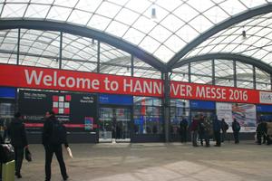 Mehr als 190.000 Besucher zählte die Hannover Messe 2016.